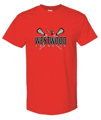 Westwood Lacrosse T-shirt- AVAILABLE IN 4 COLORS