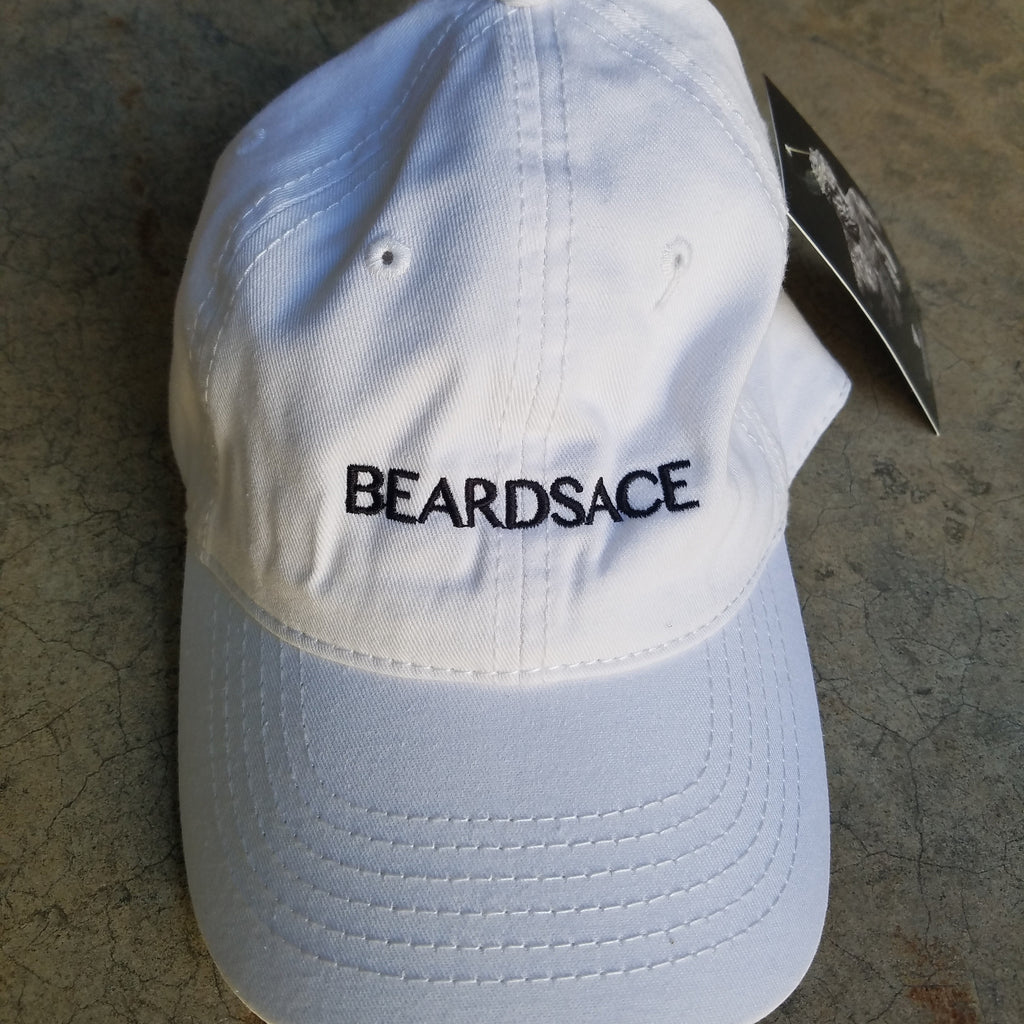 Beardsace Dads Hat - White