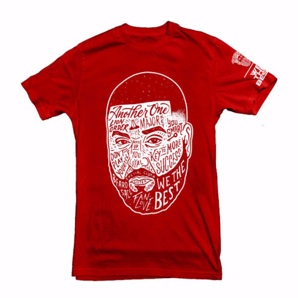 DJ Khaled x Beardsace Collab - BLK/RED