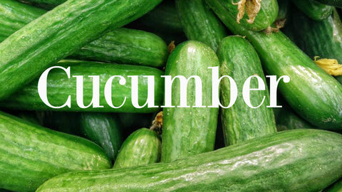 Cucumber good for skin