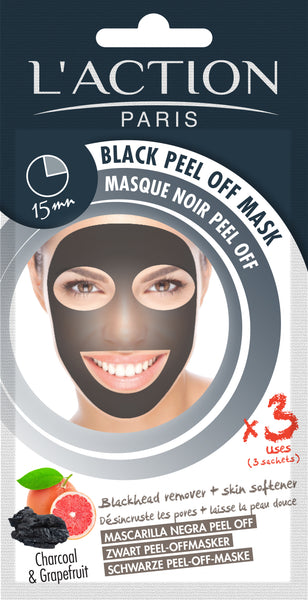 Black Charcoal Peel Off Mask