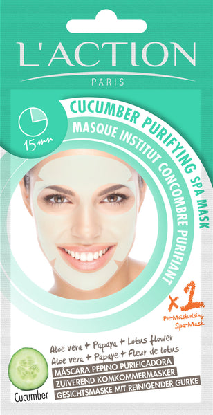 Cucumber Spa Mask Cucumber Face Mask Cucumber Purifying Mask