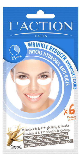 Wrinkle Reducer Hydrogel Patches x 6