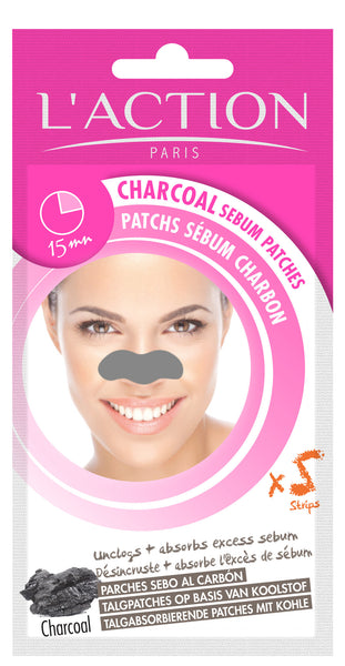 Charcoal Sebum Patches x 5