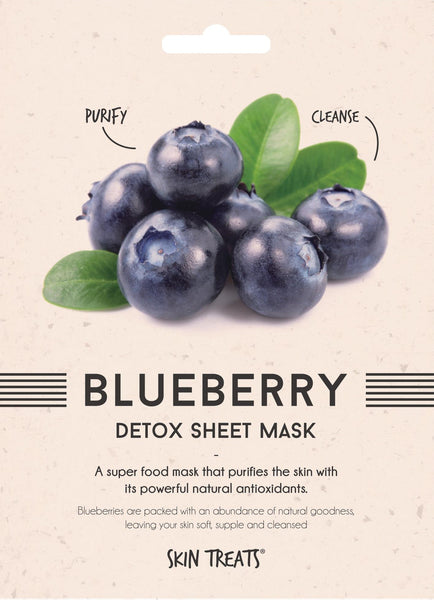 Blueberry Detox Superfood Sheet Mask