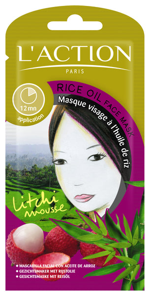 Rice Oil Mud Mask