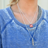 Virginia Tech Layered Necklace