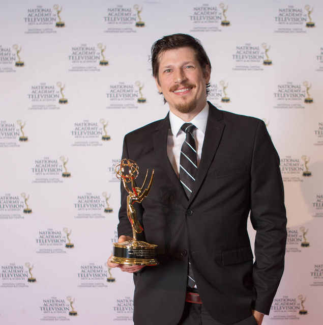 Emmy winner, Christopher Marshall and