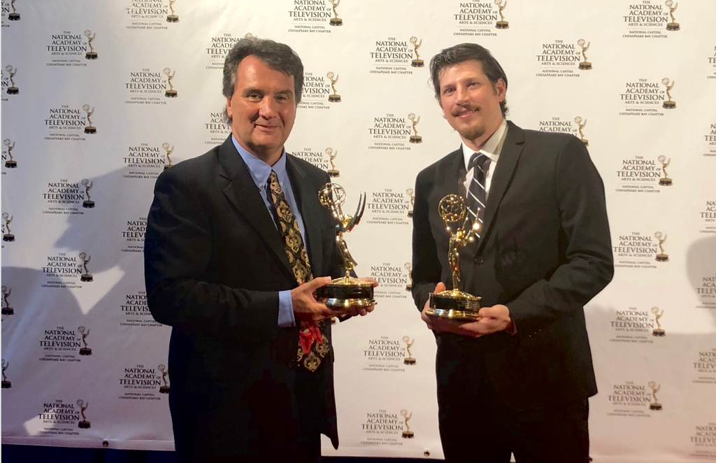'Liberty & Slavery' wins two Emmys at National Capital Cheasapeake Bay Chapter Emmy Awards