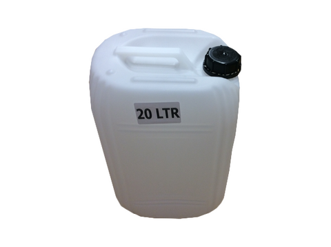 Jerry Container: 20 ltr incl cap (each)