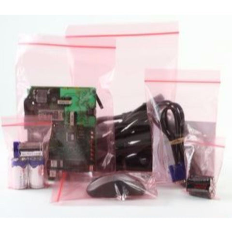 Anti static electrical grip seal bag