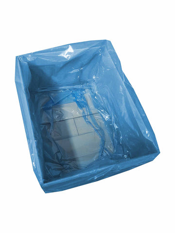Blue Plastic Bags & Sheets - Catering Disposables - Food Packaging