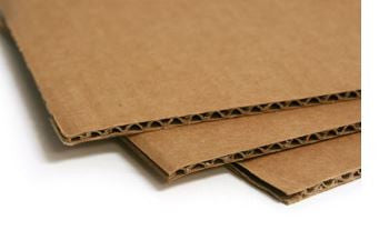 Corrugated Cardboard Sheets - Variety of Sizes