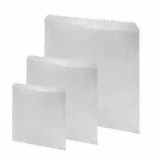 white Greaseproof Paper Bag (1000) - Food Packaging - Catering Disposables