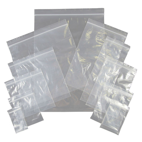 Grip Seal Bags - Large (9 inch+) - Food Grade Ziplock Bags
