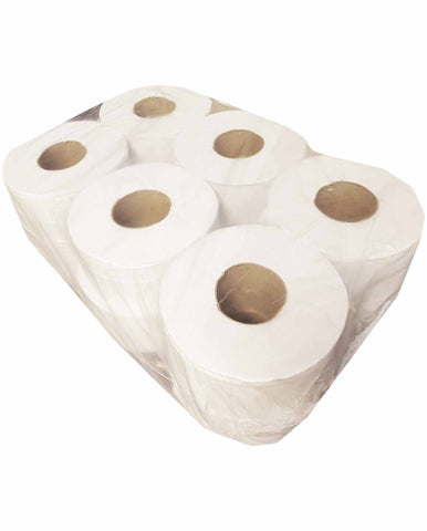 Jumbo Toilet Roll - Catering Disposables (Qty 12)