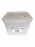 Large Plastic Tubs - Food Packaging - Catering Disposables 4l