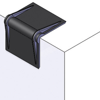 Plastic corner edge guards
