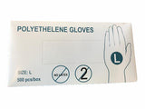 Clear Poly Gloves - Catering Disposables