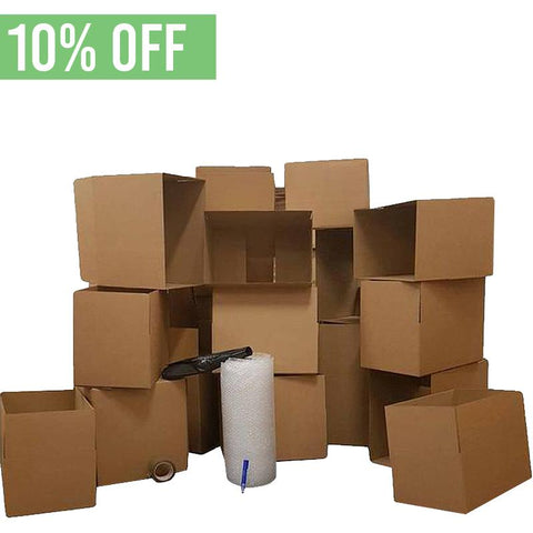 Student Moving House Package (1-2 Bed) - Moving Boxes and Supplies
