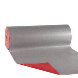 Wrapping Paper - Coloured Kraft Paper - Gift Wrapping (400mtrs) red and silver