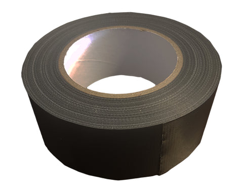 Tape Cloth: Black Polycloth 50mm x 50mtr