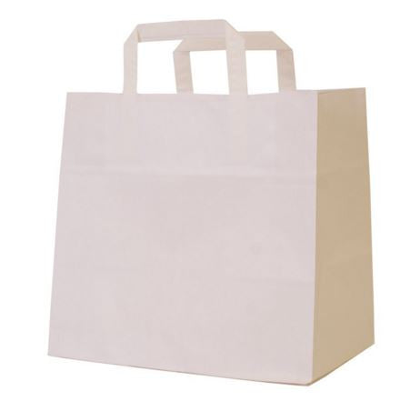 White Patisserie Carrier bag