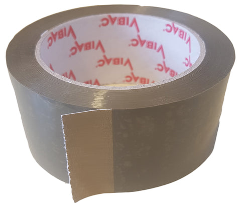 Packaging Tape - Brown Plastic, Pressure Sensitive, Adhesive Tape