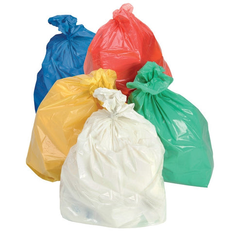 Bin Bag - Coloured Bin Bag - Coloured Refuse Sacks - Heavy Duty