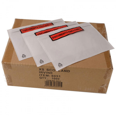 Documents Enclosed - Plastic Bag