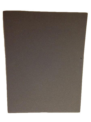 Foam Board: PU Foam - Grey - 590mm x 760mm x 50mm (High Density)