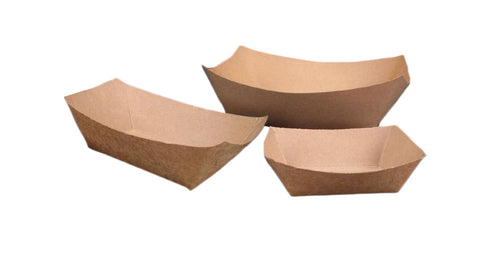 Kraft Trays - Cheap Takeaway Containers