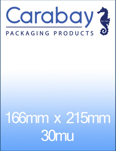 Polyprop Card Bags - Various Sizes - Plastic Sleeves - Plastic Bags