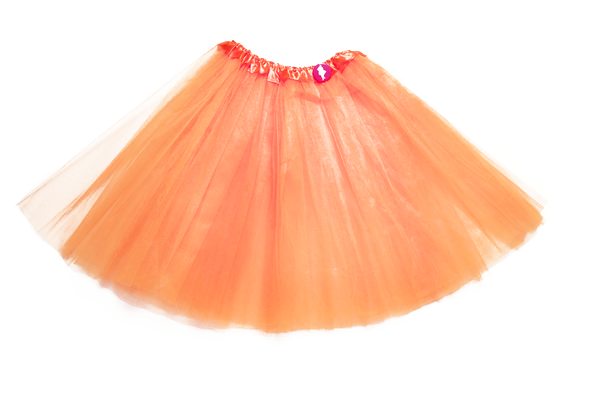 orange adult tutu cancer awareness product