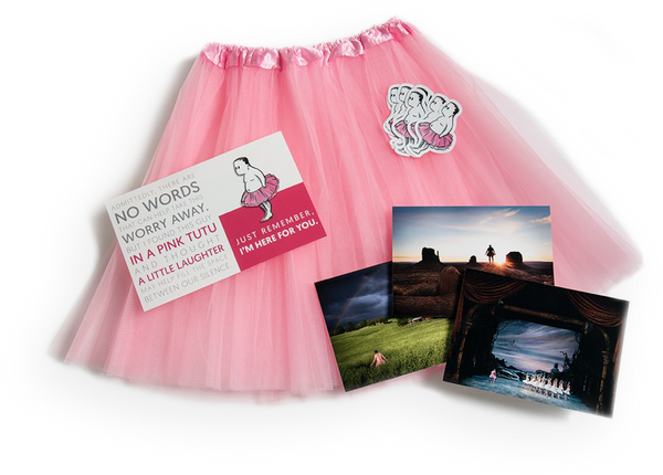 Tutu Breast Cancer Gift Package