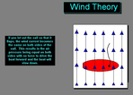 A Little Sailing Wind Theory