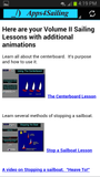 Learn To Sail VOL 2 Sailing Lesson App for Android, Samsung, Kindle Fire