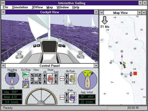 Interactive Sailing Simulator for Windows PC