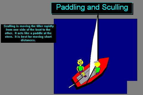 Moving your Boat When Becalmed for iPad, iPhone, IOS