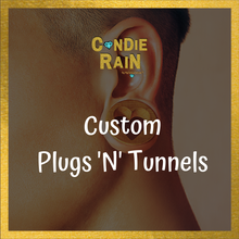 Load image into Gallery viewer, Candied Custom Ear Plugs