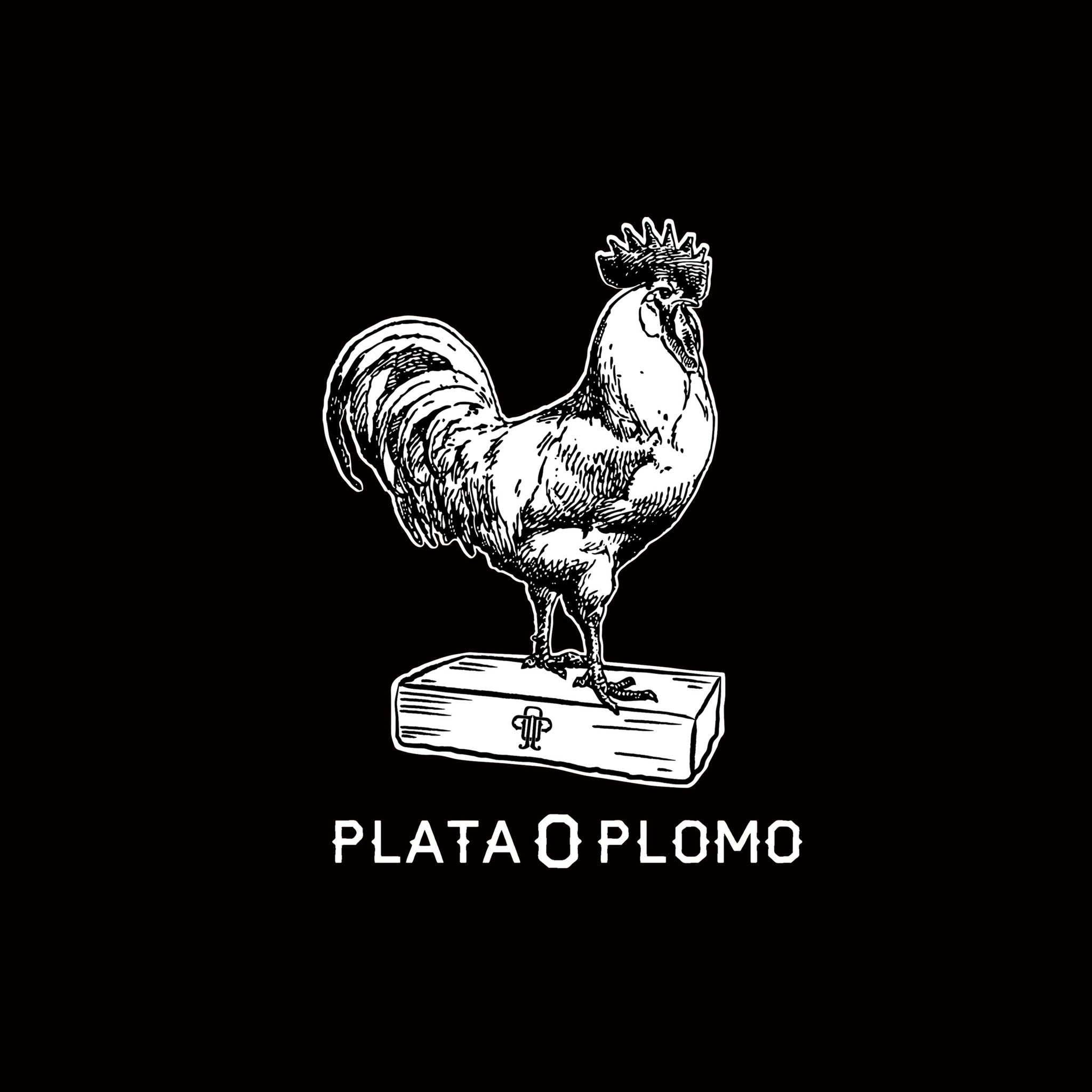 THE CHICKEN ON A BRICK | WOMENS CREW NECK T-SHIRT - Plata O Plomo LA