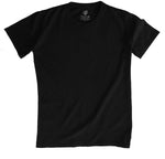 THE BLACK T-SHIRT | MENS CREW NECK T-SHIRT - Plata O Plomo LA