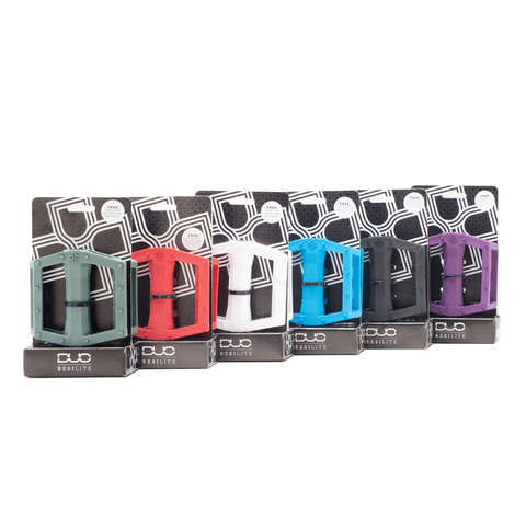 DUO Brand Resilite pedal 6-pack