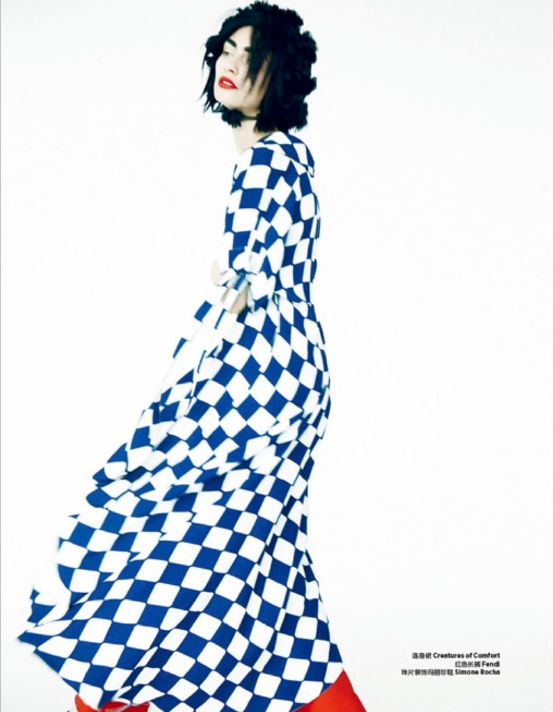 Harper's Bazaar China- Color a Dream