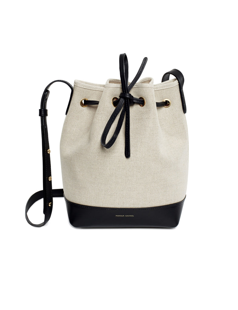 Mini Bucket Bag Canvas