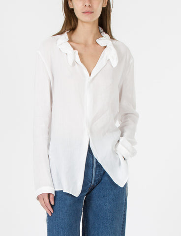 U-Gather Collar Shirt