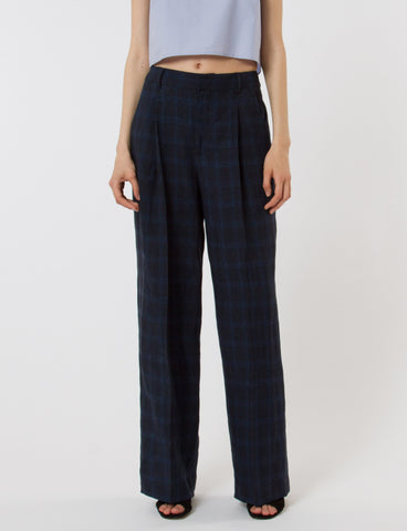 Harriette Pant French Plaid