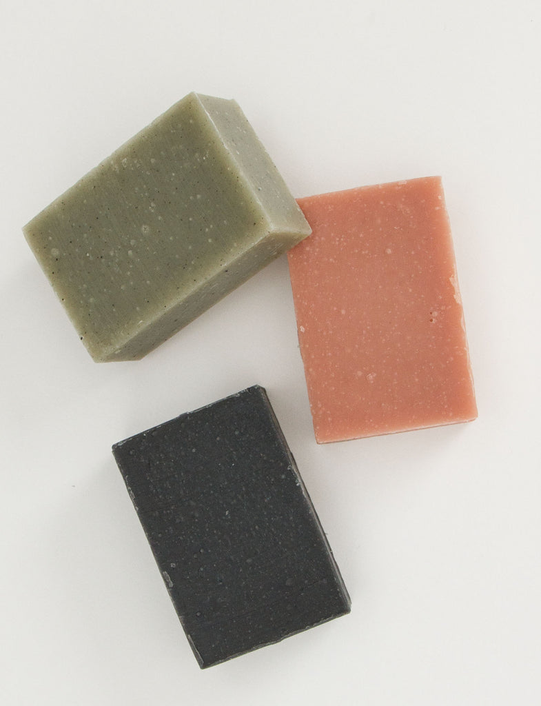 Bamboo Charcoal Soap - HERBIVORE
