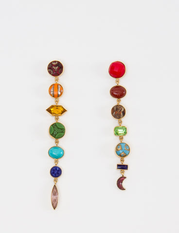 Rainbrow Drops Earrings - GRAINNE MORTON
