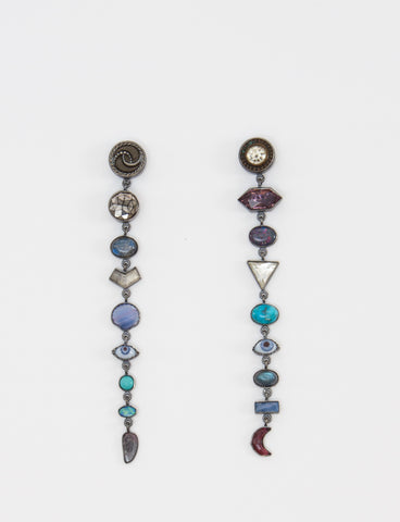 Multi Drops X Nine Earrings - GRAINNE MORTON